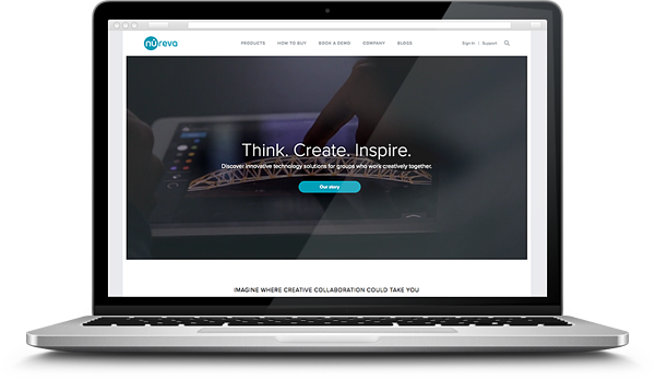 nureva-technology-website-design-hero