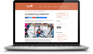 garage door company blog