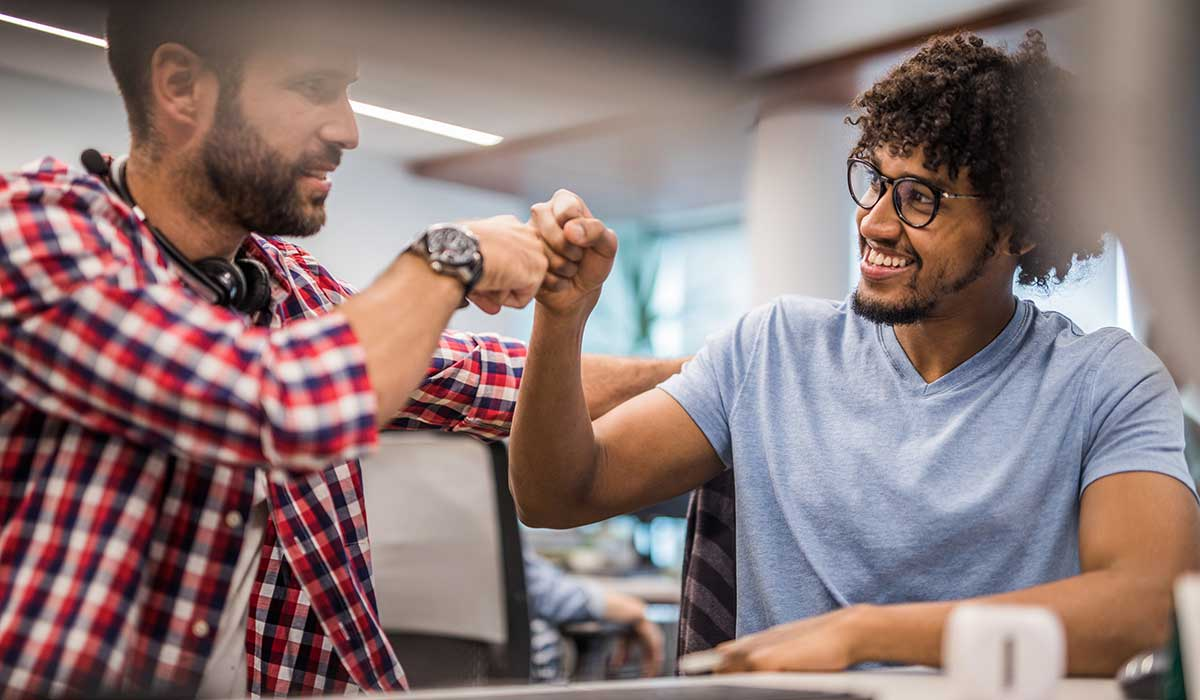 working collaboratively results in bigger gains, faster